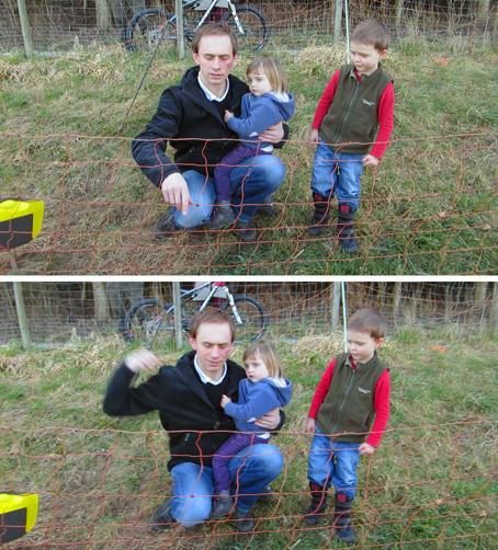 Markus testet den Viehüter